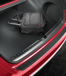 Килимок в багажник велюровий Optima